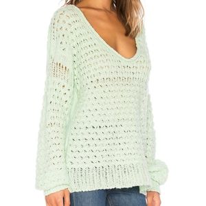Free People Crashing Waves Pullover Sweater